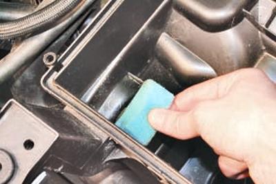 Очистка системы вентиляции картера Форд мондео 4 (2007-2014)