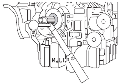 Замена сальников коленчатого вала двигателя duratec-v15 объемом 2,5 л Форд мондео 4 (2007-2014)