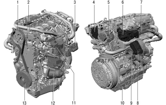 Особенности конструкции и ремонта двигателя duratorq-tdci объемом 2,2 л Форд мондео 4 (2007-2014)