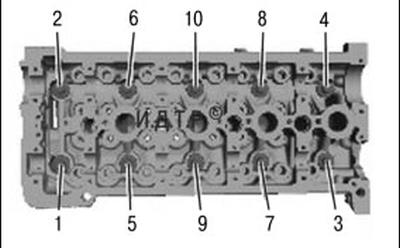 Замена прокладки головки блока цилиндров двигателя duratorq-tdci объемом 2,2 л Форд мондео 4 (2007-2014)