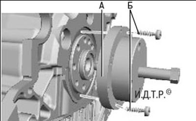 Замена сальников коленчатого вала двигателя duratorq-tdci объемом 2,2 л Форд мондео 4 (2007-2014)
