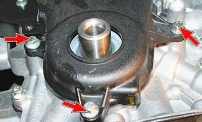 Проверка и замена ремня привода газораспределительного механизма двигателя duratec ti-vct объемом 1,6 л Форд мондео 4 (2007-2014)