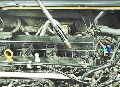 Проверка компрессии в цилиндрах Форд мондео 4 (2007-2014)