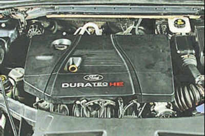Снятие и установка декоративного кожуха двигателя Форд Мондео 4 (2007-2014)