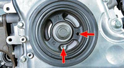 Установка поршня первого цилиндра в положение вмт такта сжатия Форд мондео 4 (2007-2014)