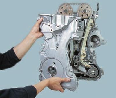 Замена цепи привода газораспределительного механизма двигателей duratec-he объемом 2,0 и 2,3 л Ford Mondeo 4 manual