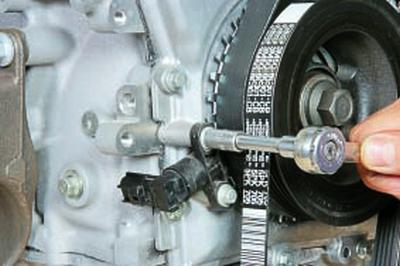 Замена цепи привода газораспределительного механизма двигателей duratec-he объемом 2,0 и 2,3 л Форд мондео 4 (2007-2014)