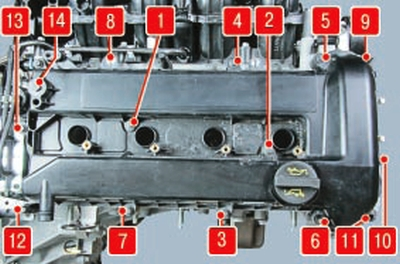 Замена прокладки крышки головки блока цилиндров Форд мондео 4 (2007-2014)