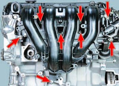 Замена прокладки впускной трубы Форд мондео 4 (2007-2014)