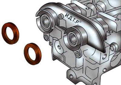 Замена сальников распределительных валов Форд мондео 4 (2007-2014)