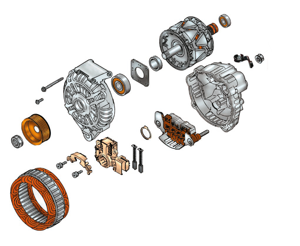 Генератор Форд мондео 4 (2007-2014)