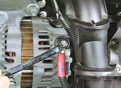 Снятие и установка генератора Форд мондео 4 (2007-2014)