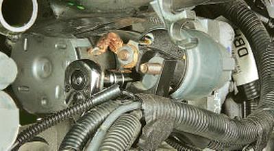 Снятие и установка стартера Форд мондео 4 (2007-2014)