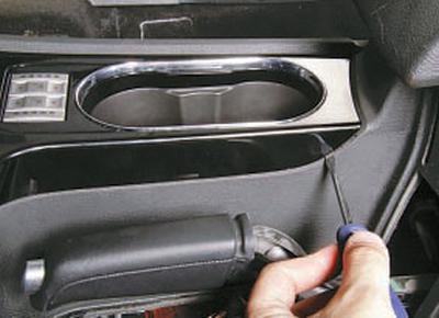 Снятие и установка выключателей обогрева передних сидений Форд мондео 4 (2007-2014)