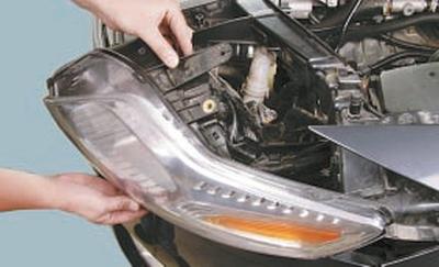 Замена блок-фары Форд мондео 4 (2007-2014)