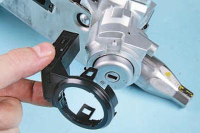 Замена цилиндра выключателя (замка) зажигания Форд мондео 4 (2007-2014)