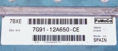 Замена электронного блока управления двигателем Форд мондео 4 (2007-2014)