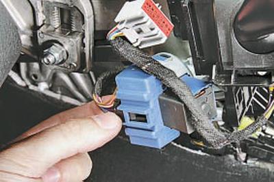 Замена контактной группы выключателя (замка) зажигания Форд мондео 4 (2007-2014)