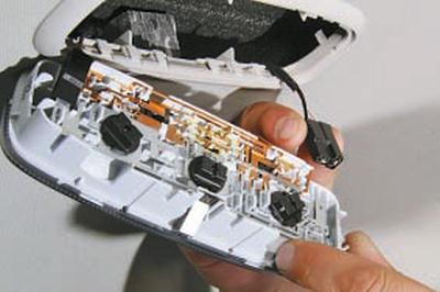 Замена плафона освещения салона Форд мондео 4 (2007-2014)