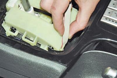 Снятие и установка кулисы рычага управления коробкой передач Форд мондео 4 (2007-2014)