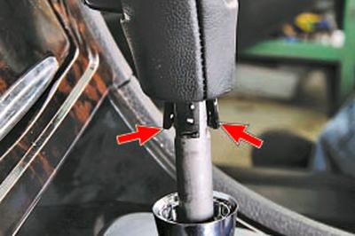 Замена тросов управления коробкой передач Форд мондео 4 (2007-2014)