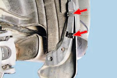 Снятие и установка брызговиков колес и подкрылков Форд мондео 4 (2007-2014)
