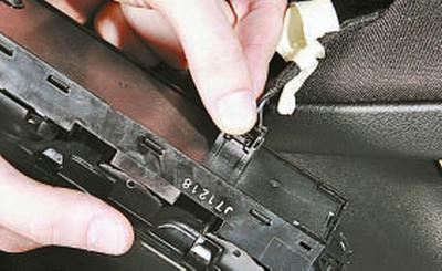 Снятие и установка обивки передней двери Форд мондео 4 (2007-2014)