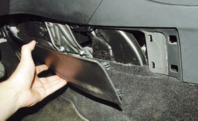 Снятие и установка облицовки тоннеля пола Форд мондео 4 (2007-2014)