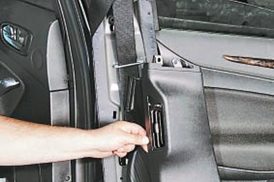 Снятие и установка облицовок салона Форд Мондео 4 (2007-2014)