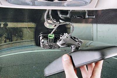 Снятие и установка внутреннего зеркала Форд мондео 4 (2007-2014)