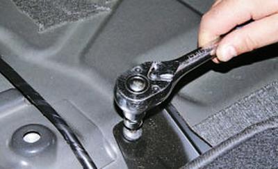 Снятие и установка заднего сиденья Форд мондео 4 (2007-2014)