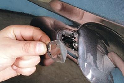 Замена наружной ручки задней двери Форд мондео 4 (2007-2014)