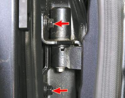 Замена ограничителя открывания передней двери Форд мондео 4 (2007-2014)