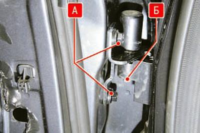 Замена ограничителя открывания задней двери Форд мондео 4 (2007-2014)
