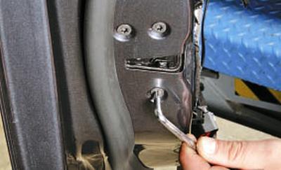 Замена замка передней двери Форд мондео 4 (2007-2014)
