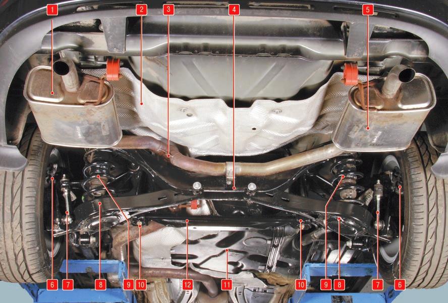 Общие сведения об автомобиле Форд мондео 4 (2007-2014)