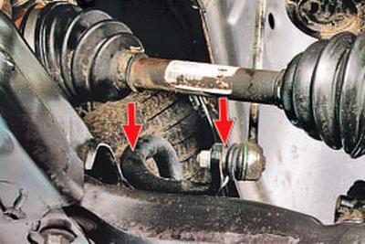 Проверка технического состояния деталей передней подвески на автомобиле Форд мондео 4 (2007-2014)