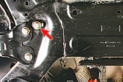Снятие и установка подрамника передней подвески Форд мондео 4 (2007-2014)