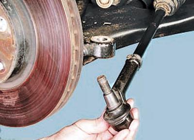 Снятие и установка поворотного кулака Форд мондео 4 (2007-2014)