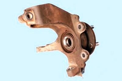 Замена подшипника передней ступицы Форд мондео 4 (2007-2014)