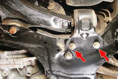 Замена рычага передней подвески Форд мондео 4 (2007-2014)