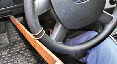 Проверка свободного хода (люфта) рулевого колеса Форд мондео 4 (2007-2014)