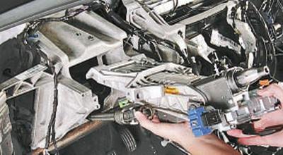 Снятие и установка рулевой колонки Форд мондео 4 (2007-2014)