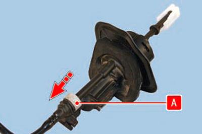 Замена главного цилиндра привода выключения сцепления Форд мондео 4 (2007-2014)