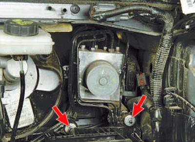 Снятие и установка гидроэлектронного блока управления антиблокировочной системой тормозов Форд Мондео 4 (2007-2014)