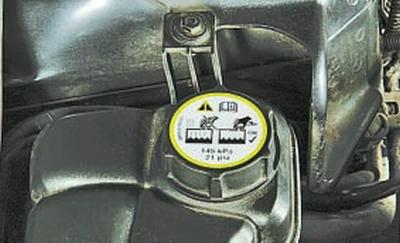 Проверка уровня и доливка охлаждающей жидкости Форд мондео 4 (2007-2014)