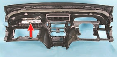 Снятие и установка подушки безопасности переднего пассажира Форд Мондео 4 (2007-2014)