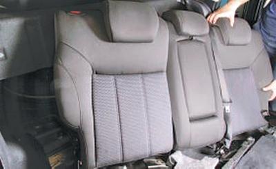 Снятие и установка заднего ремня безопасности Форд Мондео 4 (2007-2014)