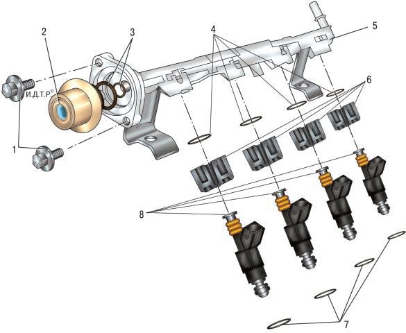 Система питания Форд мондео 4 (2007-2014)