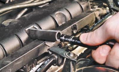 Снятие и установка топливной рампы Форд мондео 4 (2007-2014)